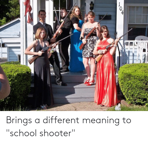 """School Shooter: Brings a different meaning to """"school shooter"""""""