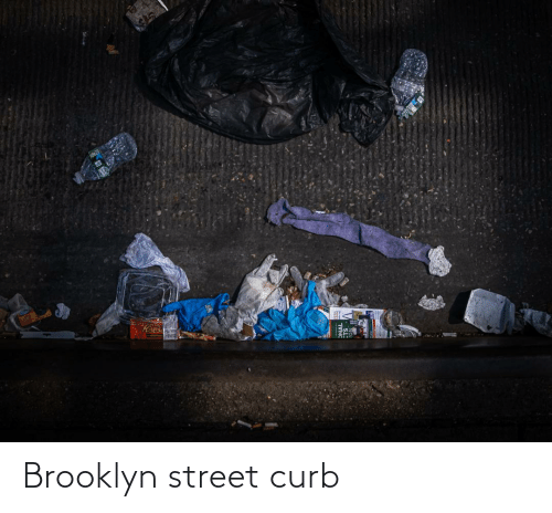 Brooklyn: Brooklyn street curb
