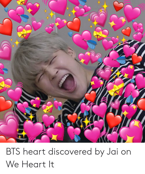 Bts Heart: BTS heart discovered by Jai on We Heart It
