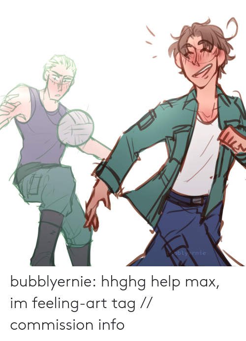Target, Tumblr, and Blog: bubblyernie:  hhghg help max, im feeling-art tag // commission info