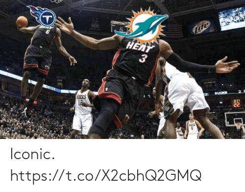 Heat: BUCKS  HEAT  BUCKS  ONTIER  B31  GUCKS  12  3. Iconic. https://t.co/X2cbhQ2GMQ