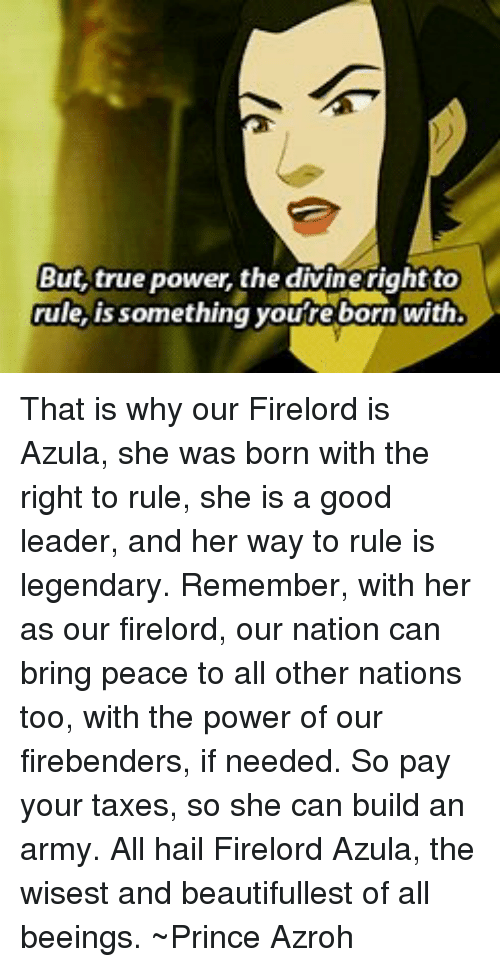 divine right to rule