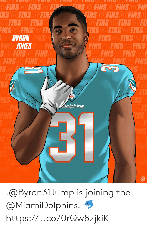 Joining: .@Byron31Jump is joining the @MiamiDolphins! 🐬 https://t.co/0rQw8zjkiK