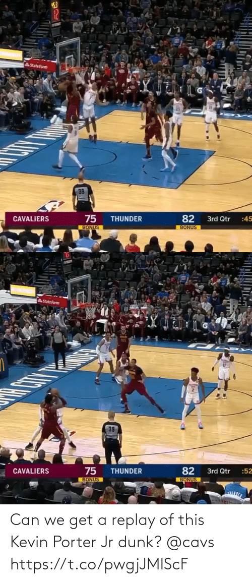 cavs: Can we get a replay of this Kevin Porter Jr dunk? @cavs https://t.co/pwgjJMIScF