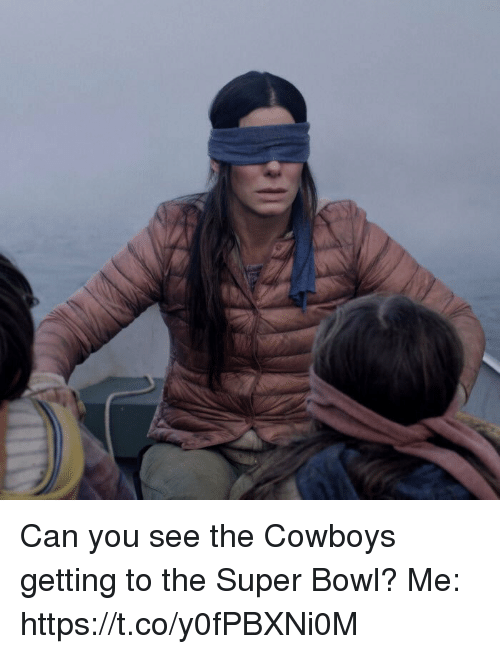 Dallas Cowboys, Football, and Nfl: Can you see the Cowboys getting to the Super Bowl?   Me: https://t.co/y0fPBXNi0M