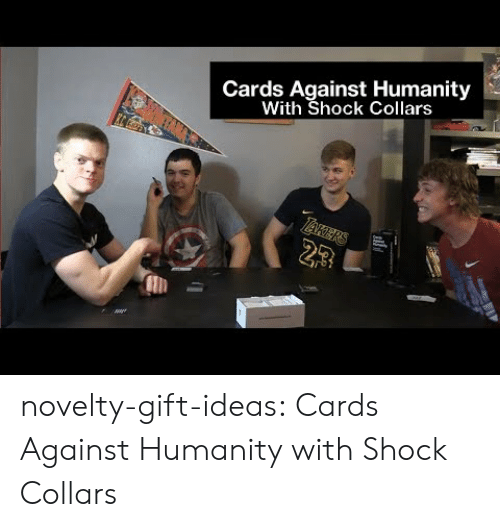 Cards Against Humanity: Cards Against Humanity  With Shock Collars  23 novelty-gift-ideas:  Cards Against Humanity with Shock Collars