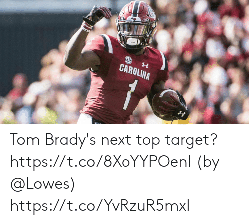 Memes, Target, and Lowes: CAROLINA Tom Brady's next top target? https://t.co/8XoYYPOenI (by @Lowes) https://t.co/YvRzuR5mxI