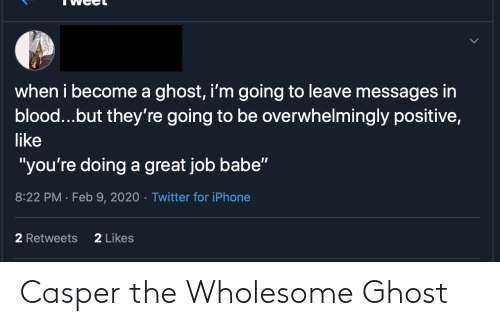 Casper: Casper the Wholesome Ghost