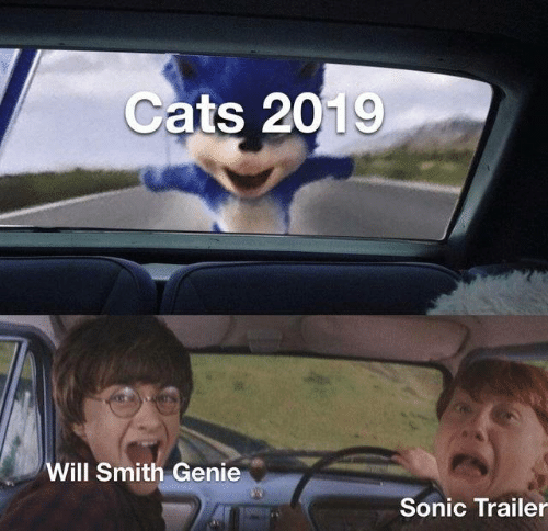 Will Smith: Cats 2019  Will Smith Genie  Sonic Trailer