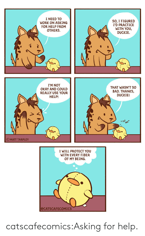 Asking For: catscafecomics:Asking for help.