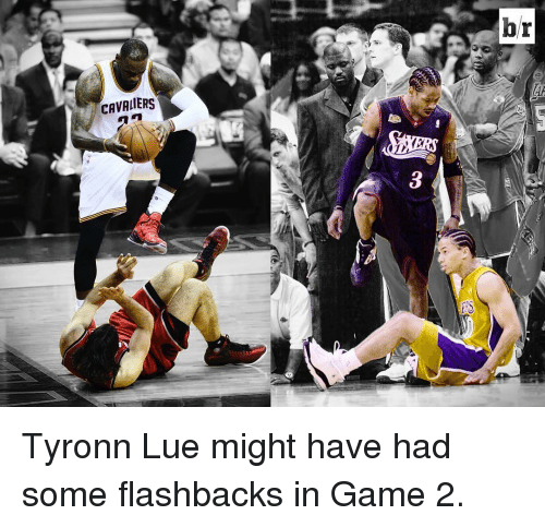 Tyronn Lue: CAVALIERS  hr Tyronn Lue might have had some flashbacks in Game 2.