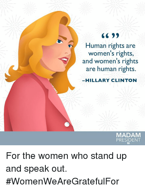 hillary clinton women s rights are human s rights
