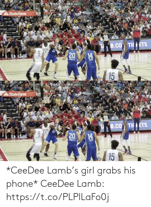 Phone: *CeeDee Lamb's girl grabs his phone*  CeeDee Lamb: https://t.co/PLPlLaFo0j