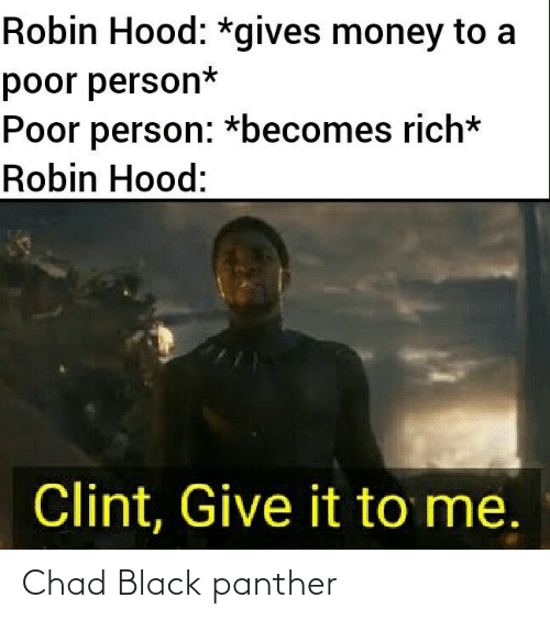 panther: Chad Black panther