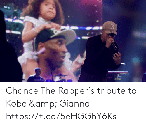 Kobe: Chance The Rapper's tribute to Kobe & Gianna  https://t.co/5eHGGhY6Ks