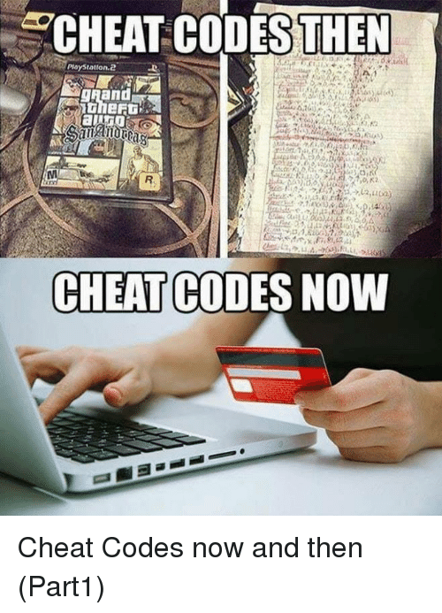 PlayStation, Playstation 2, and Now and Then: CHEAT CODESTHEN  PlayStation.2  CHEAT CODES NOWW Cheat Codes now and then (Part1)