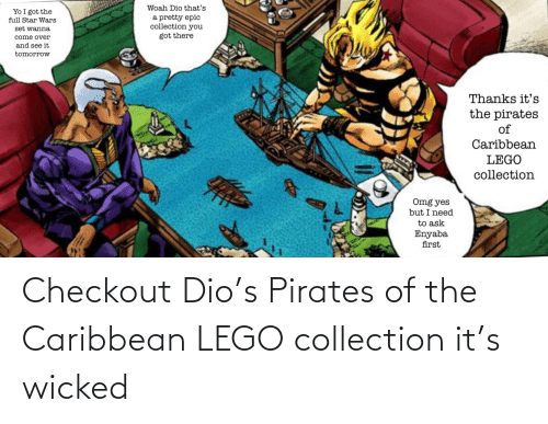 pirates of the caribbean: Checkout Dio's Pirates of the Caribbean LEGO collection it's wicked