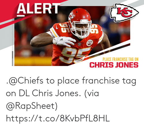 Chiefs: .@Chiefs to place franchise tag on DL Chris Jones. (via @RapSheet) https://t.co/8KvbPfL8HL