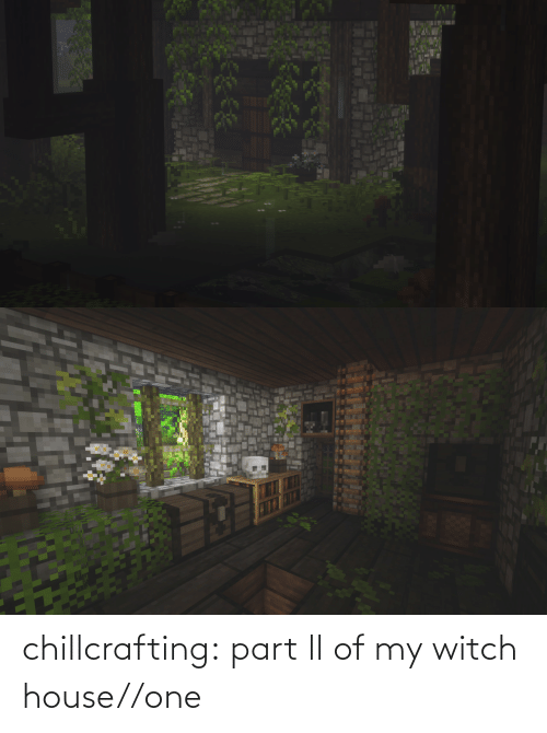 House: chillcrafting:  part ll of my witch house//one