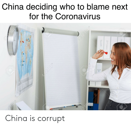 Corrupt: China is corrupt