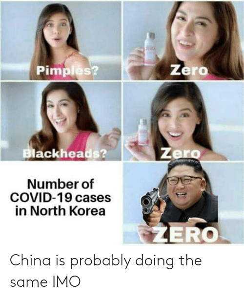 probably: China is probably doing the same IMO