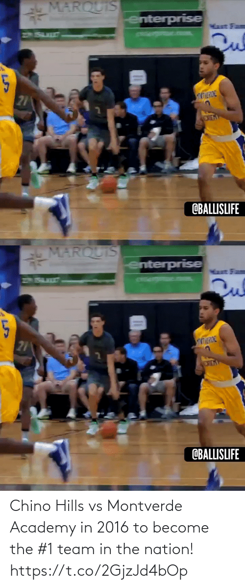In 2016: Chino Hills vs Montverde Academy in 2016 to become the #1 team in the nation! https://t.co/2GjzJd4bOp