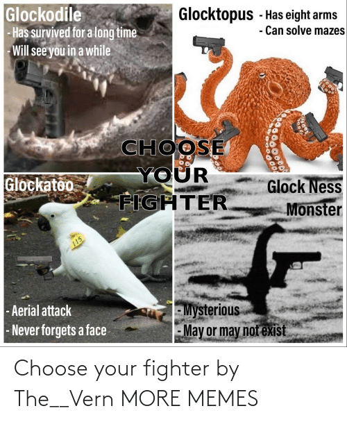 choose: Choose your fighter by The__Vern MORE MEMES