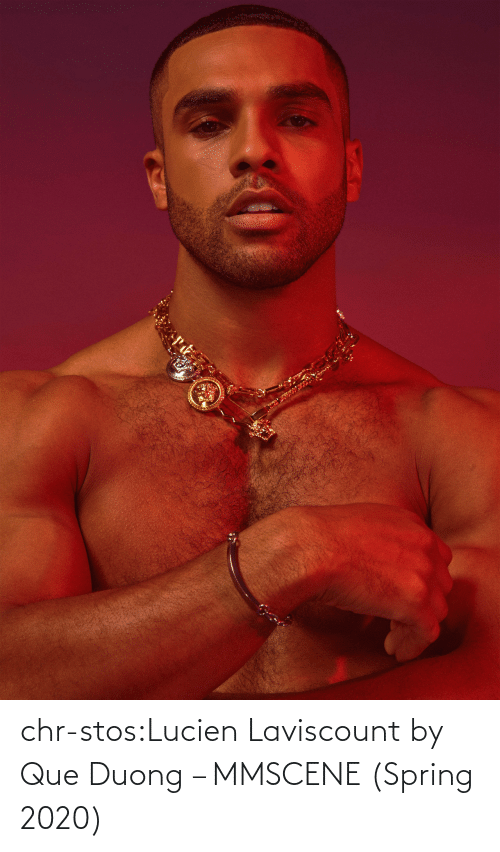 Spring: chr-stos:Lucien Laviscount by Que Duong – MMSCENE (Spring 2020)