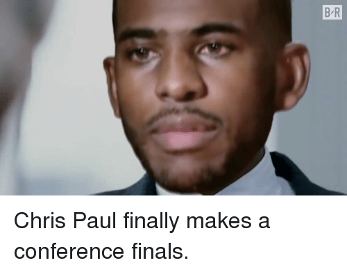 Conference Finals: Chris Paul finally makes a conference finals.