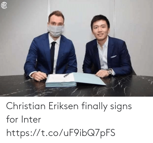 inter: Christian Eriksen finally signs for Inter https://t.co/uF9ibQ7pFS