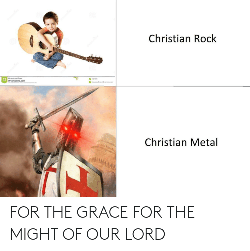 Me Com: Christian Rock  Download from  Dreamstime.com  18281908  Anastasia Shleval Drearst me com  Christian Metal FOR THE GRACE FOR THE MIGHT OF OUR LORD