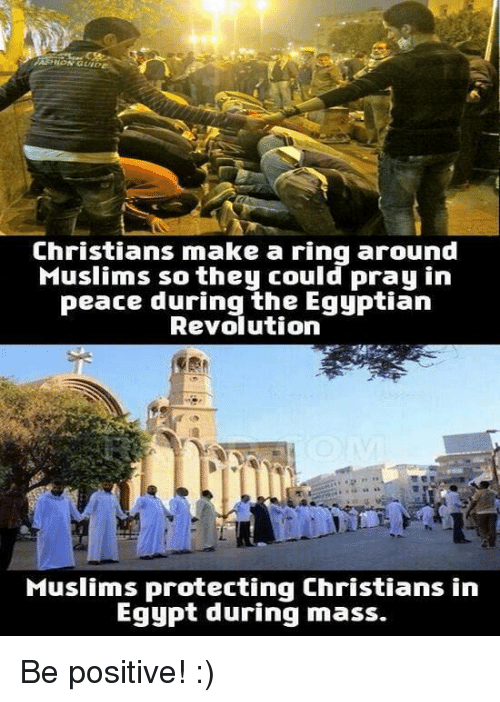 christians and muslim