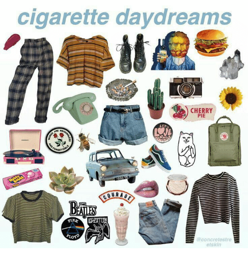 Cigarette, Pie, and Cherry: cigarette daydreams  CHERRY  PIE  LE  @concretestre  etskin