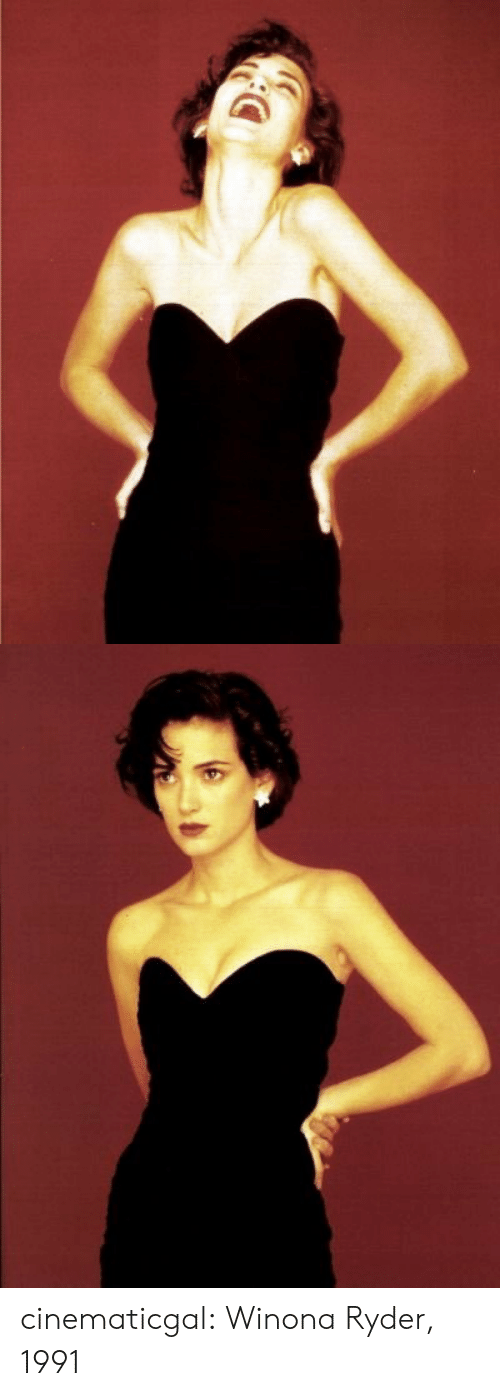 Tumblr, Blog, and Http: cinematicgal:  Winona Ryder, 1991