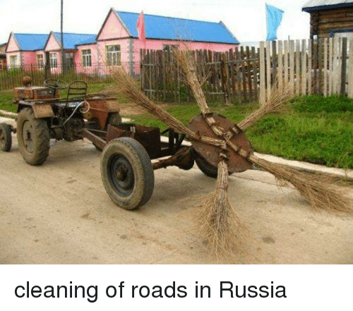 Funny, Russia, and  Cleaning