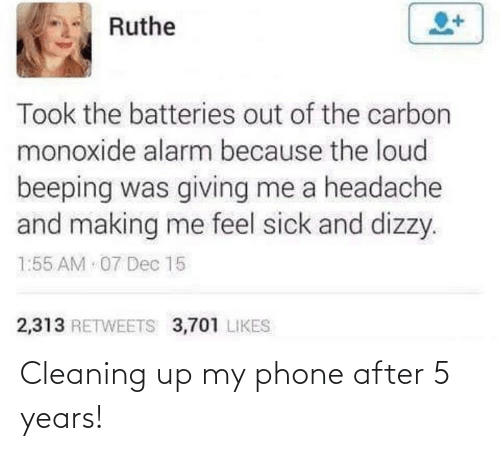 my phone: Cleaning up my phone after 5 years!
