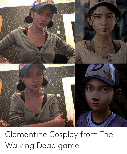 The Walking Dead: Clementine Cosplay from The Walking Dead game