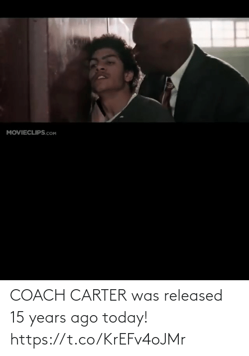 years: COACH CARTER was released 15 years ago today! https://t.co/KrEFv4oJMr
