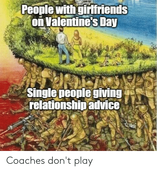 play: Coaches don't play