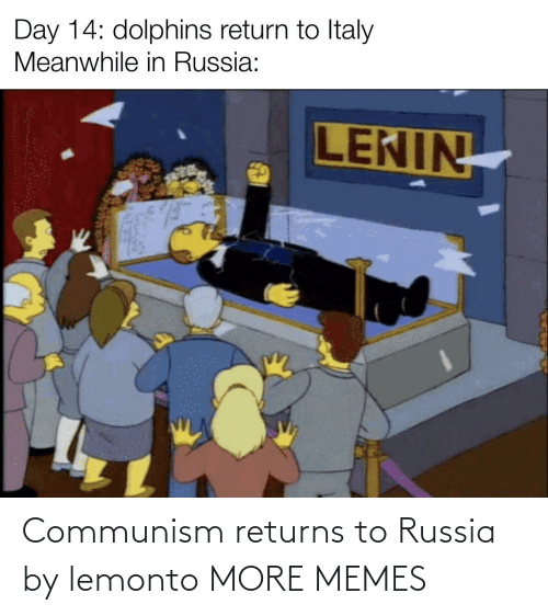 Russia: Communism returns to Russia by lemonto MORE MEMES