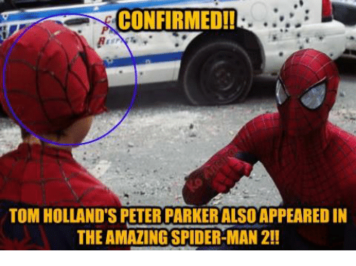 Confirmed Tom Hollands Peter Parker Also Appeared In The