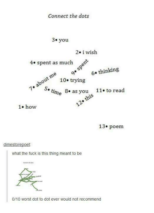 What the fuck poem