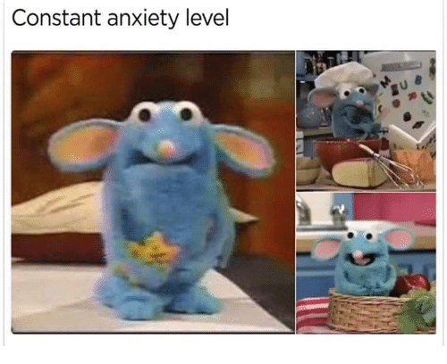 Anxiety Level: Constant anxiety level