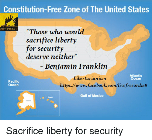 Sacrifice Liberty For Security