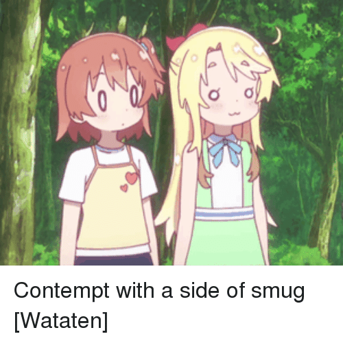 Contempt, Smug, and Side