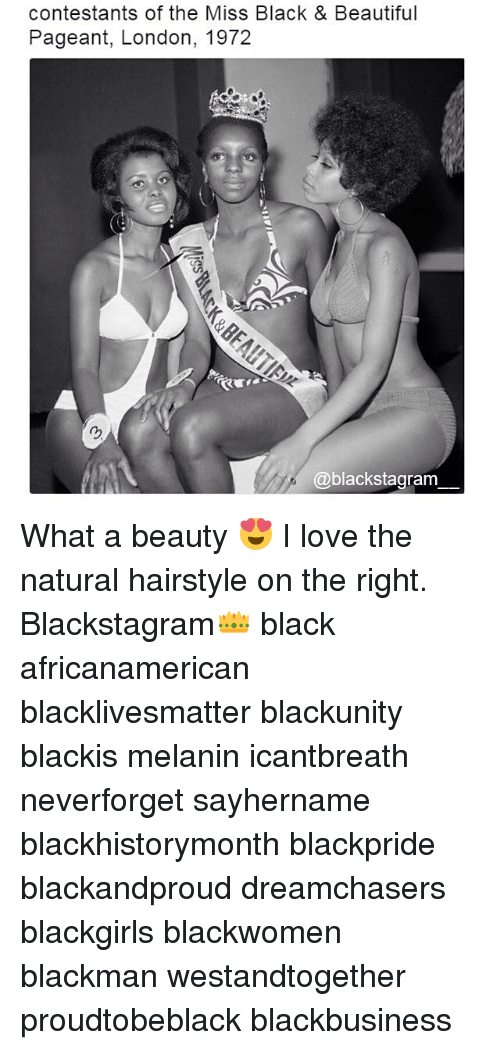 Dreamchasers: contestants of the Miss Black & Beautiful  Pageant, London, 1972  @blackstagram What a beauty 😍 I love the natural hairstyle on the right. Blackstagram👑 black africanamerican blacklivesmatter blackunity blackis melanin icantbreath neverforget sayhername blackhistorymonth blackpride blackandproud dreamchasers blackgirls blackwomen blackman westandtogether proudtobeblack blackbusiness