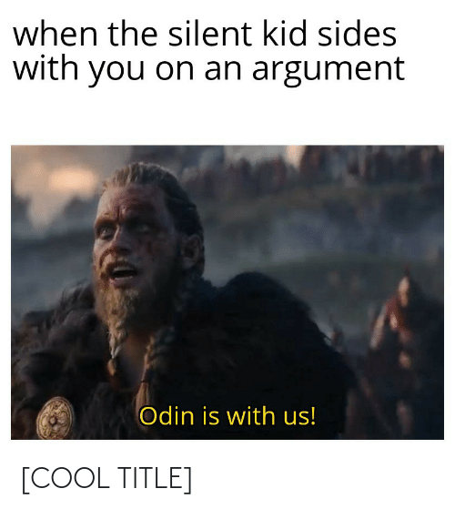 Title: [COOL TITLE]