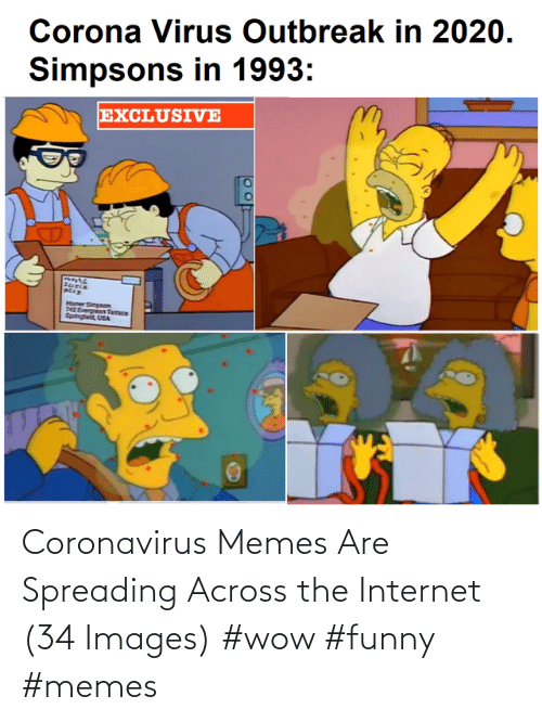 spreading: Coronavirus Memes Are Spreading Across the Internet (34 Images) #wow #funny #memes