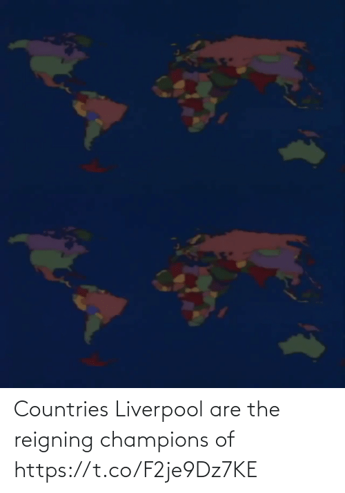 Countries: Countries Liverpool are the reigning champions of  https://t.co/F2je9Dz7KE