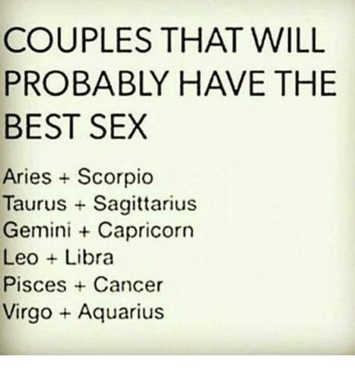 Best sex with a pisces
